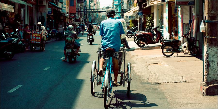 Вьетнам, велорикша
