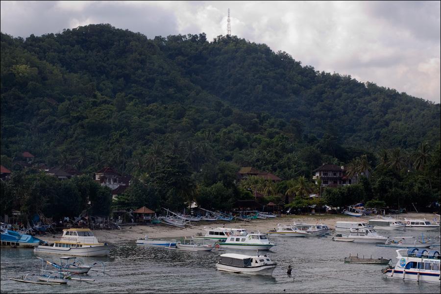 типичный балийский пляж