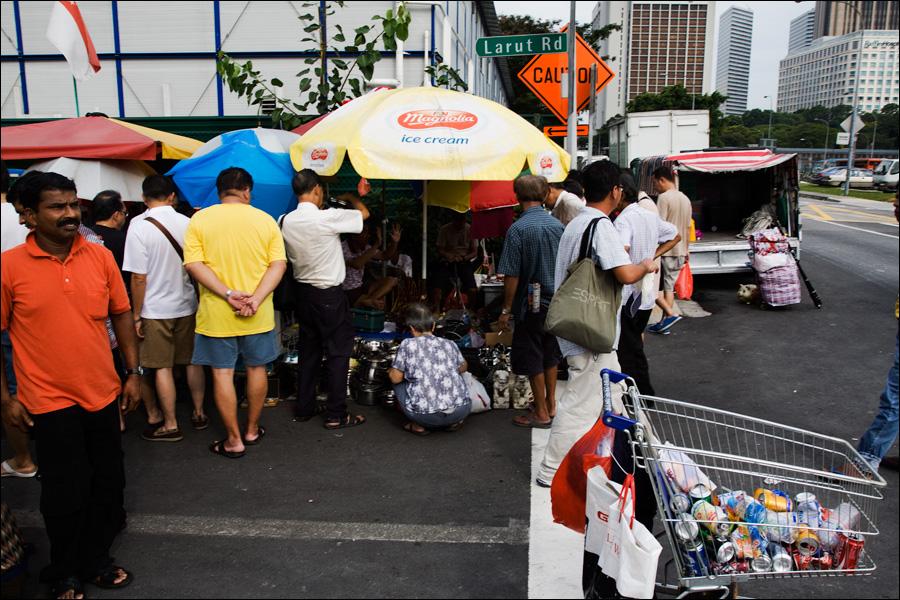 Рыночек в индийском квартале